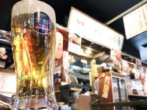 89丁目食堂生ビール